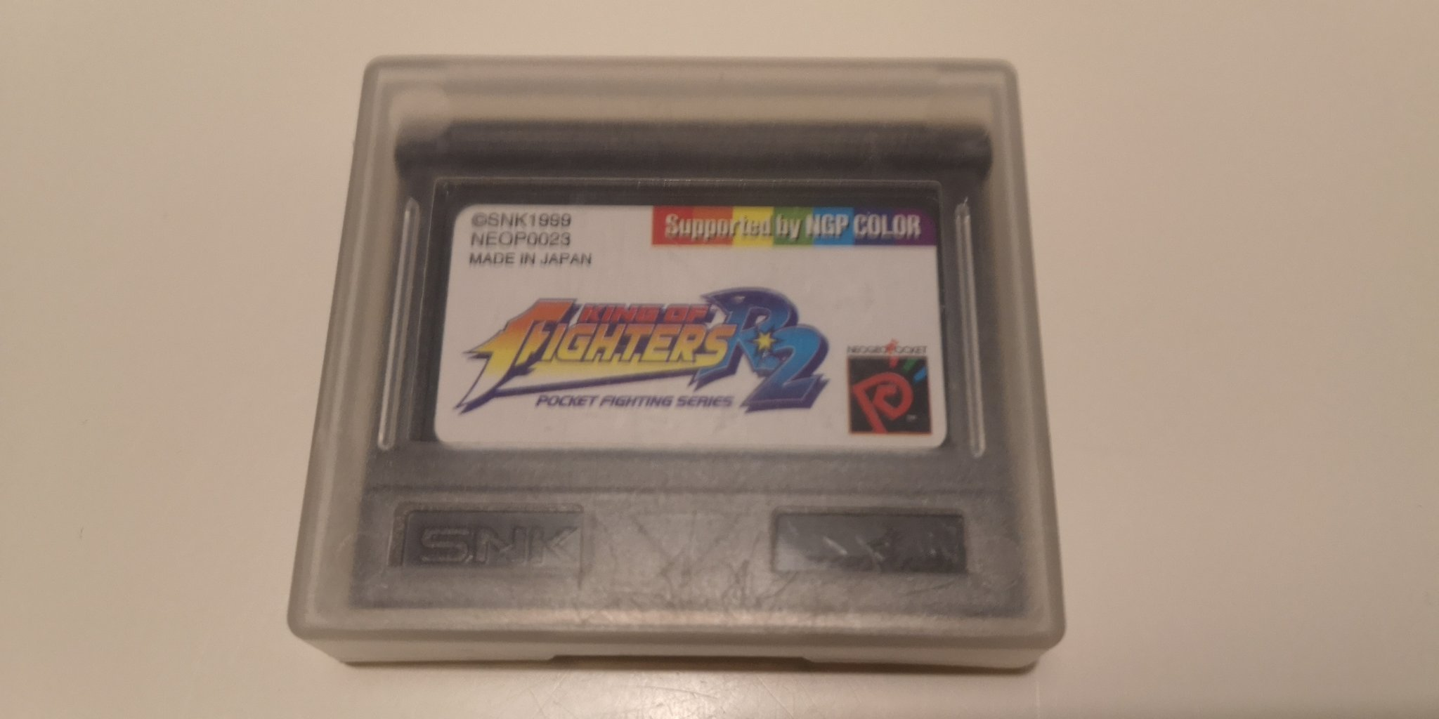 King of Fighters R2 Neo Geo Pocket Color NeoGeo. NEOP0023.