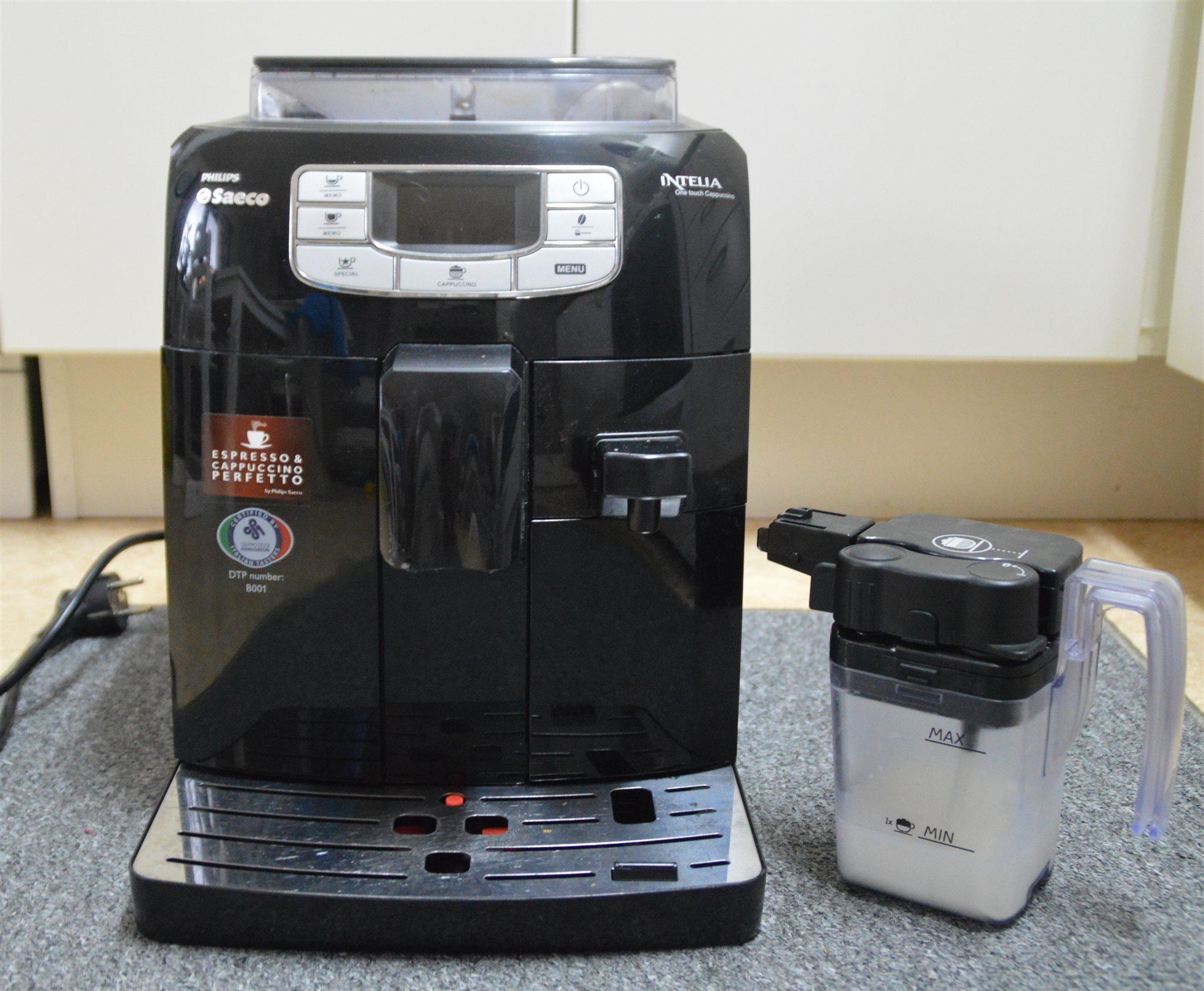 Saeco intelia kaffemaskin