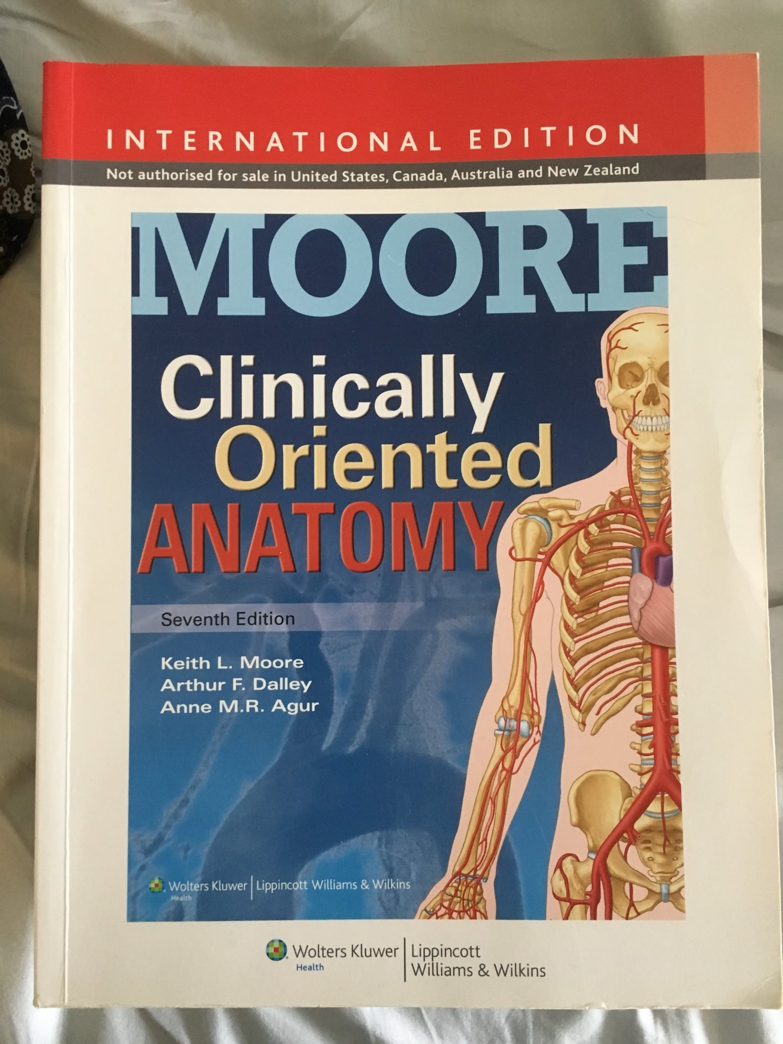 MOORE Clinically Oriented Anatomy, 7th edition på Tradera.com - Medicin