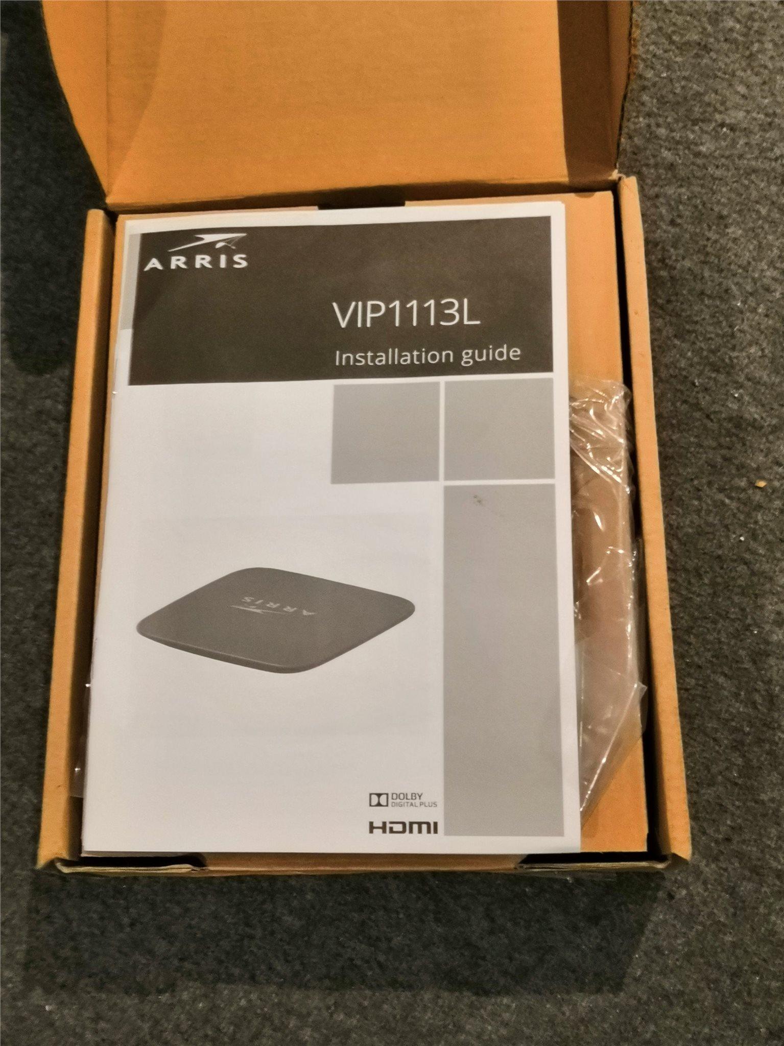 arris vip1113l installation guide