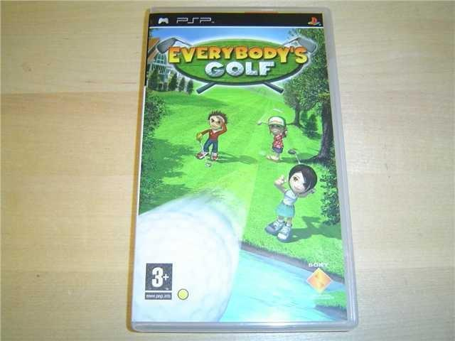 EVERYBODYS GOLF SONY PSP *NYTT*