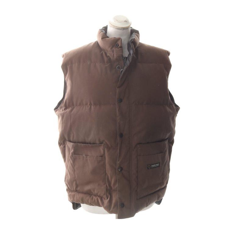 canada goose vest brun