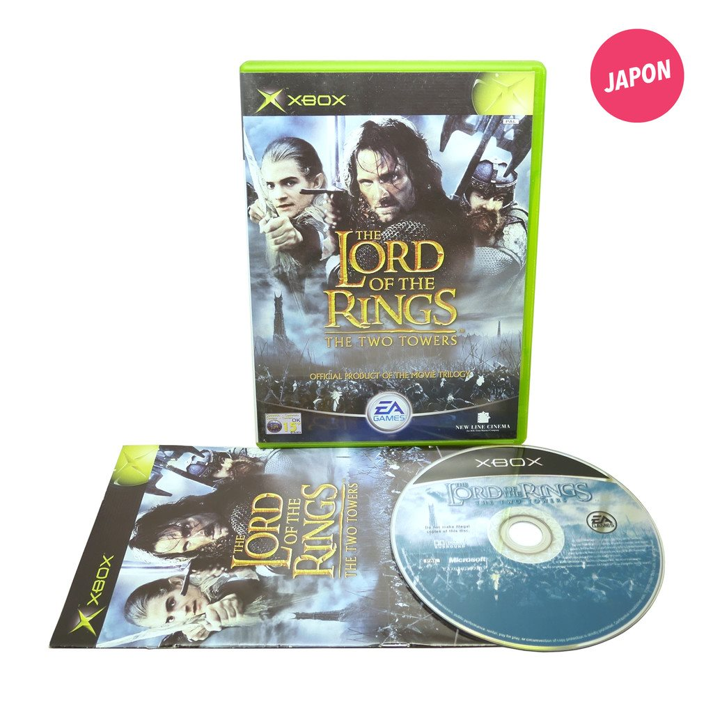 The Lord of the Rings: The Two Towers (EUR / XBOX)