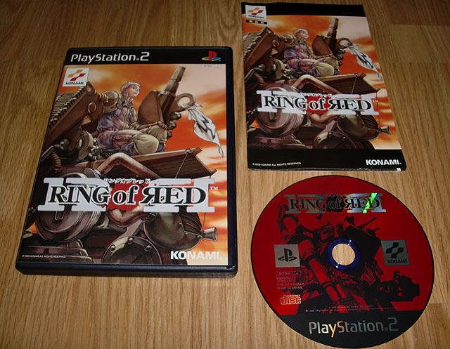 PS2 Japan: Ring of Red ★