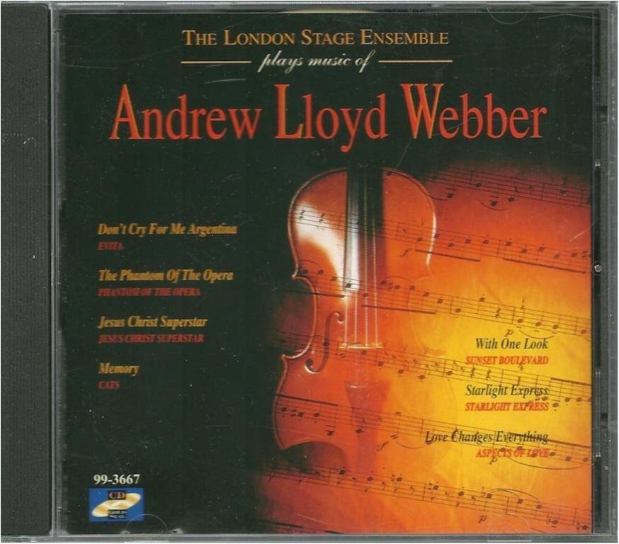 The London stage ensemble plays Andrew Lloyd Webber