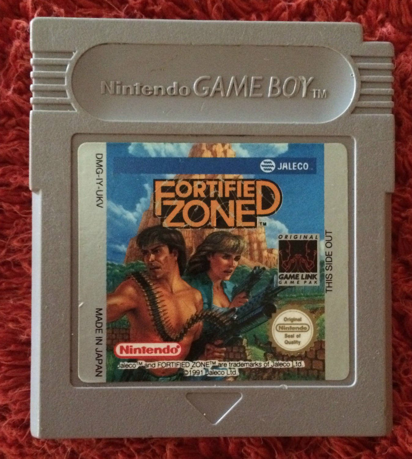 Fortified Zone - Gameboy
