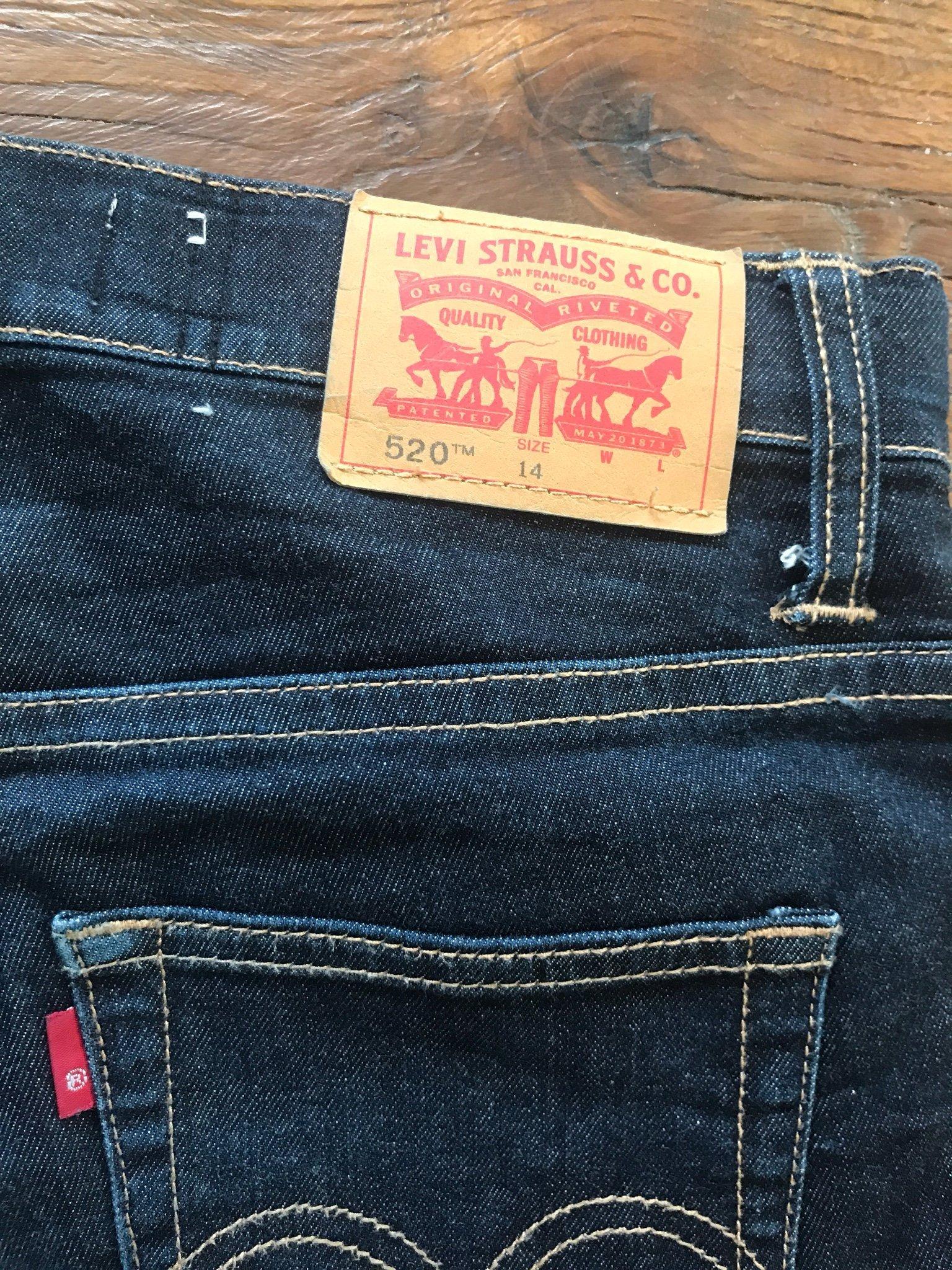 514ce3f882f Levis jeans 520 Stl 14 (350772585) ᐈ Köp på Tradera