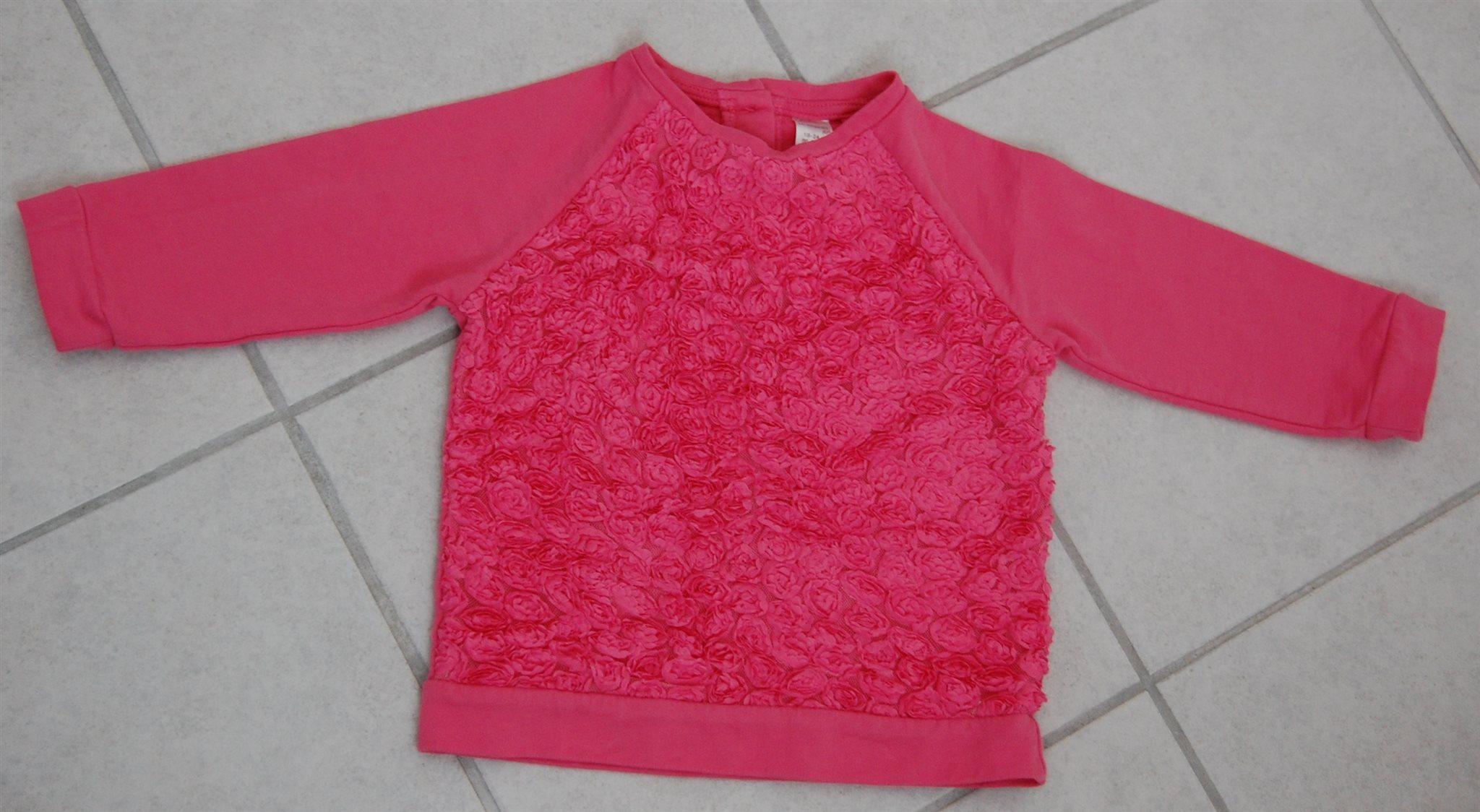 d94b47c6e3 LC Waikiki Mini Baby Girls Roses Top
