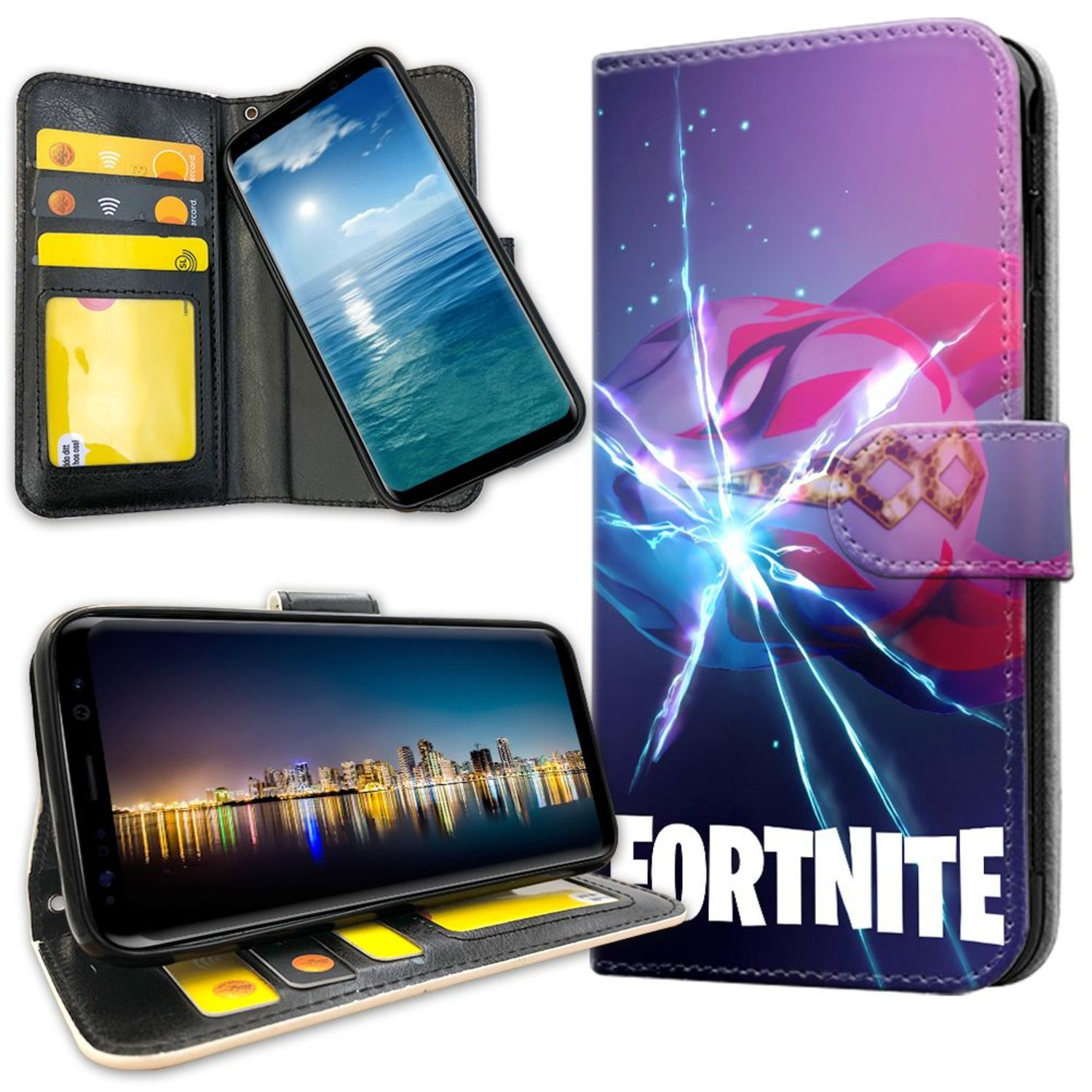 Samsung Galaxy S10 Plus - Mobilfodral Fortnite