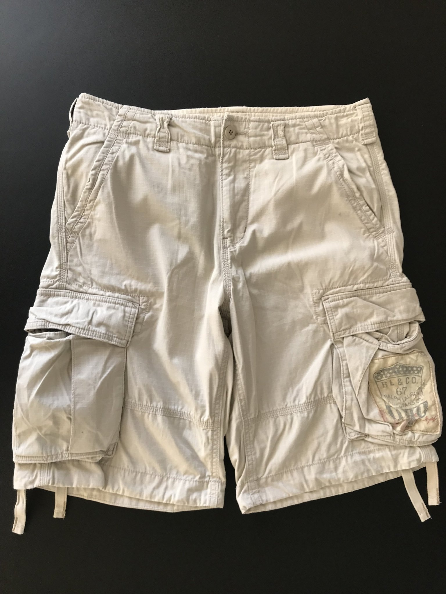 f652bce04abe Ralph Lauren Cargo Shorts Storlek 33 Ljusbeige (356065450) ᐈ Köp på ...