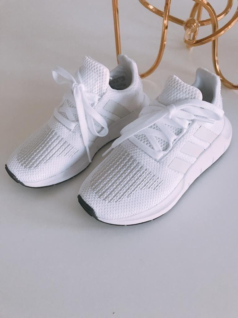 Adidas Swift Run C skor barn sneakers skor stor.. (364581811