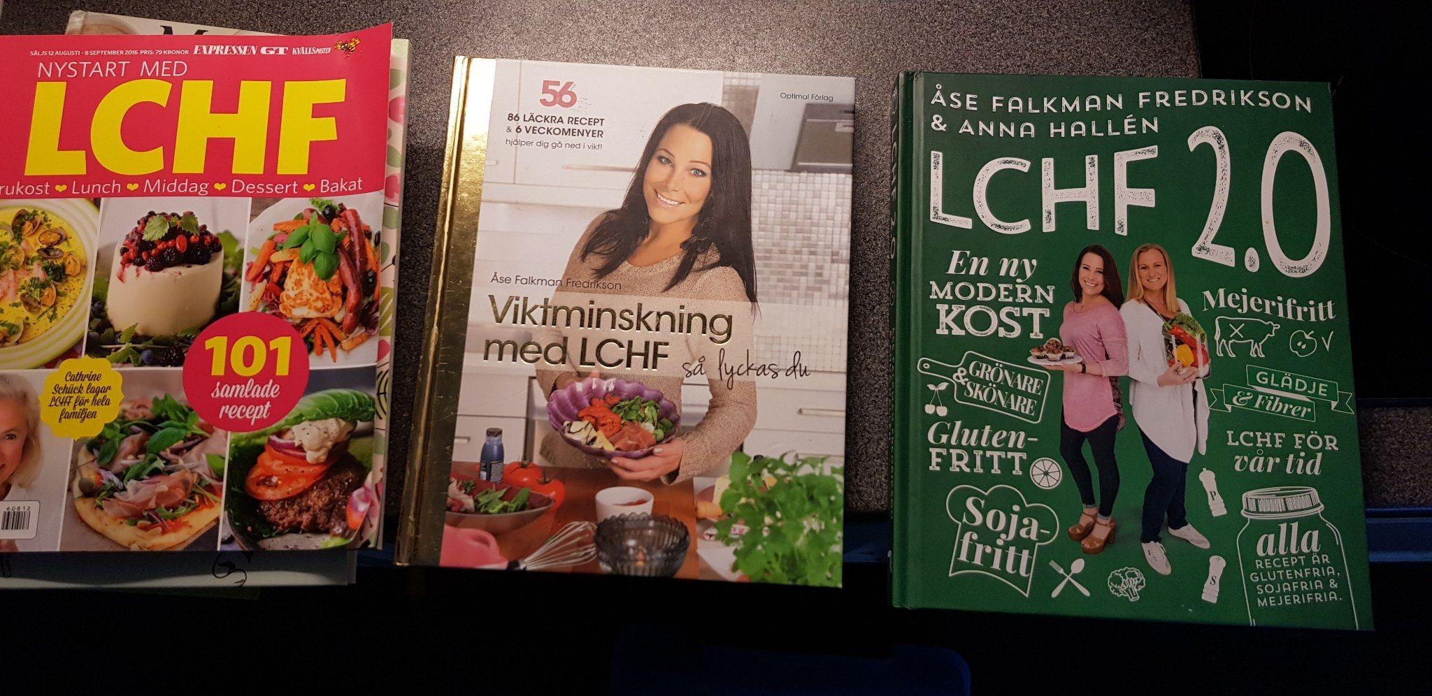 lchf böcker recept