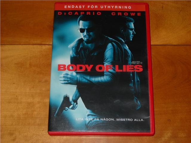 "Body Of Lies ""Di Caprio / Crowe"""