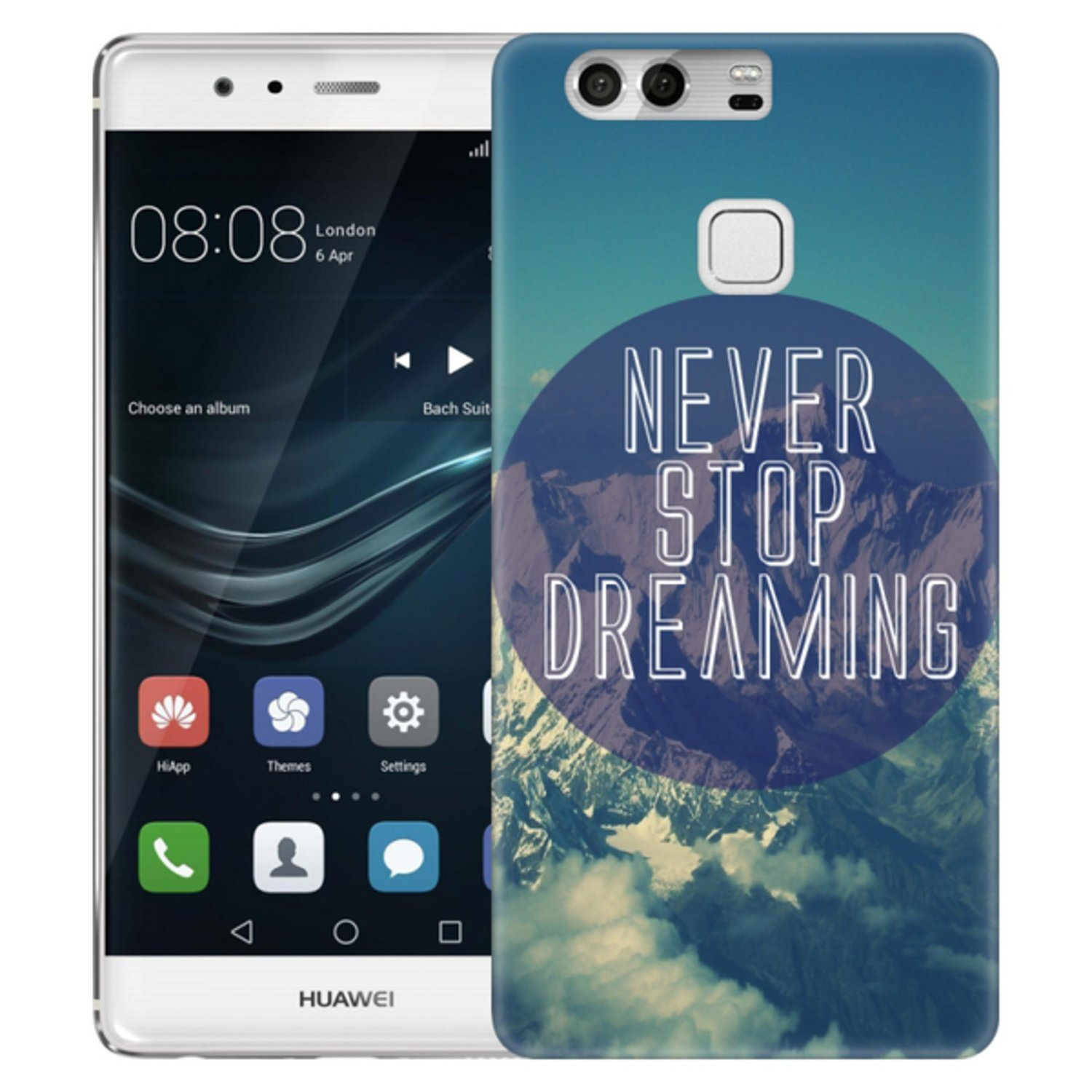 Huawei P9 Skal Never Stop Dreaming
