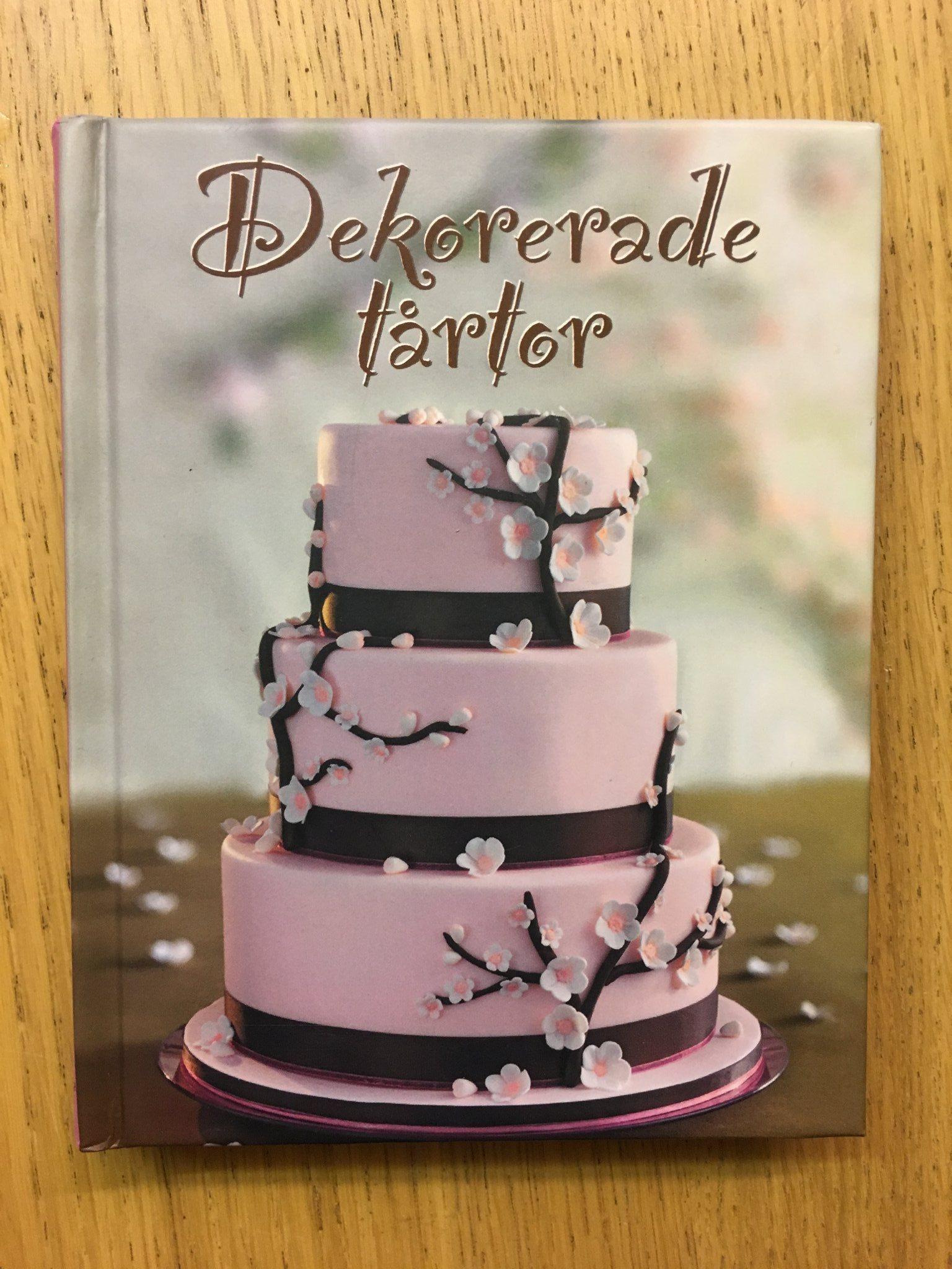 dekoration tårta steg för steg