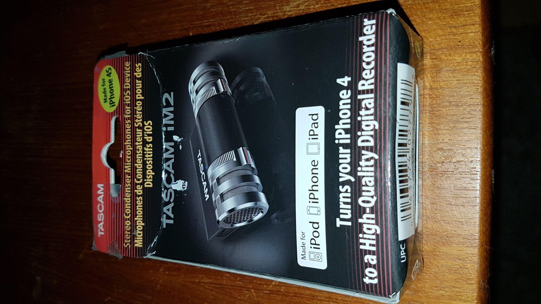 stereo mikrofon till IPhone (328430715) ᐈ Köp på Tradera 64d20892f19f4