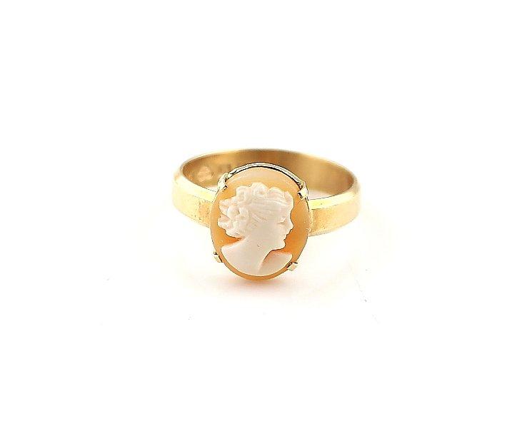 1b48632b Came ring i 18k guld (333758681) ᐈ GuldexpertenMalmö på Tradera