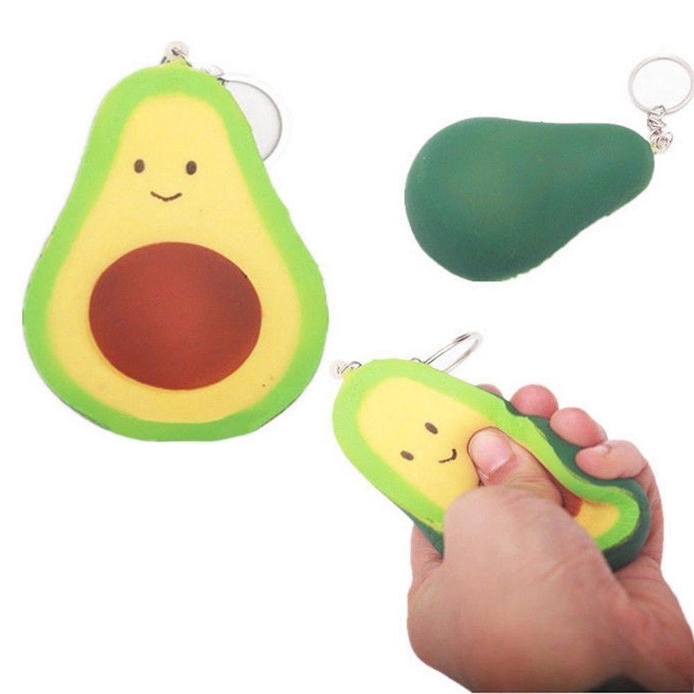 Squishy slow-  Avocado 10cm
