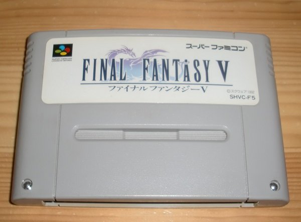 Snes Japan: Final Fantasy V 5