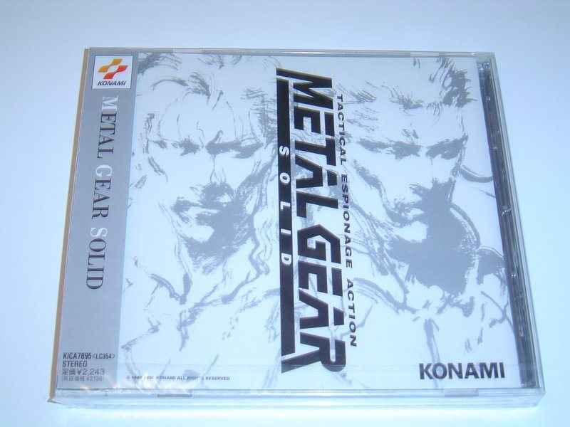 Metal Gear Solid Original Soundtrack Musik *NYTT*