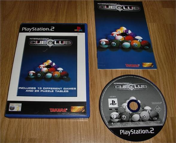 PS2: International Cue Club