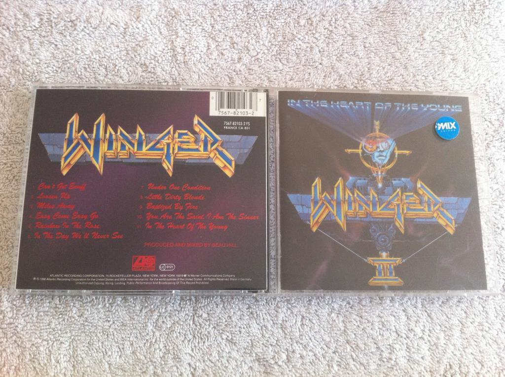 Winger - In The Heart Of The Young