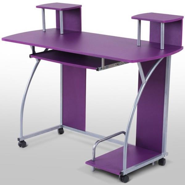 Skrivbord barn   jennifer (lila) på tradera.com   Övriga möbler ...