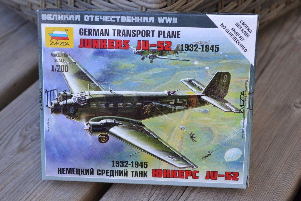 Junkers Ju-52 Transport Plane 1:200 Zve   (356695398) ᐈ
