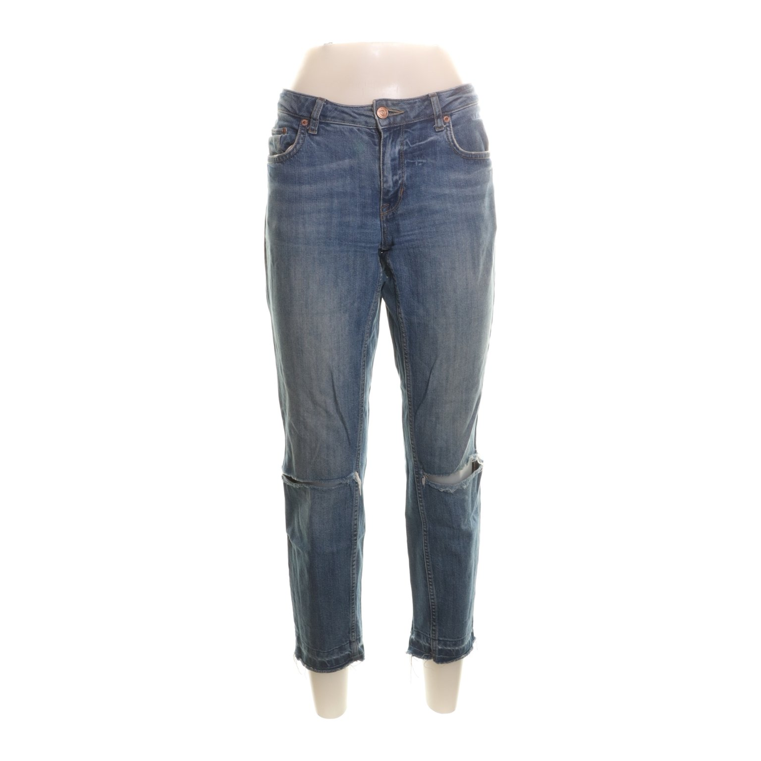 Perfect Jeans Gina Tricot, Jeans, Strl: 30, Filippa Cropped Jeans, Blå