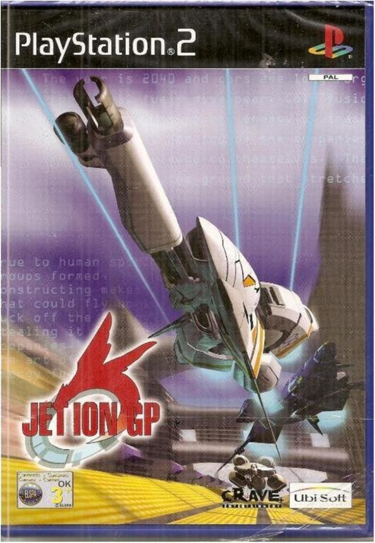 JET ION GP   (INPLASTAT PS2 SPEL)