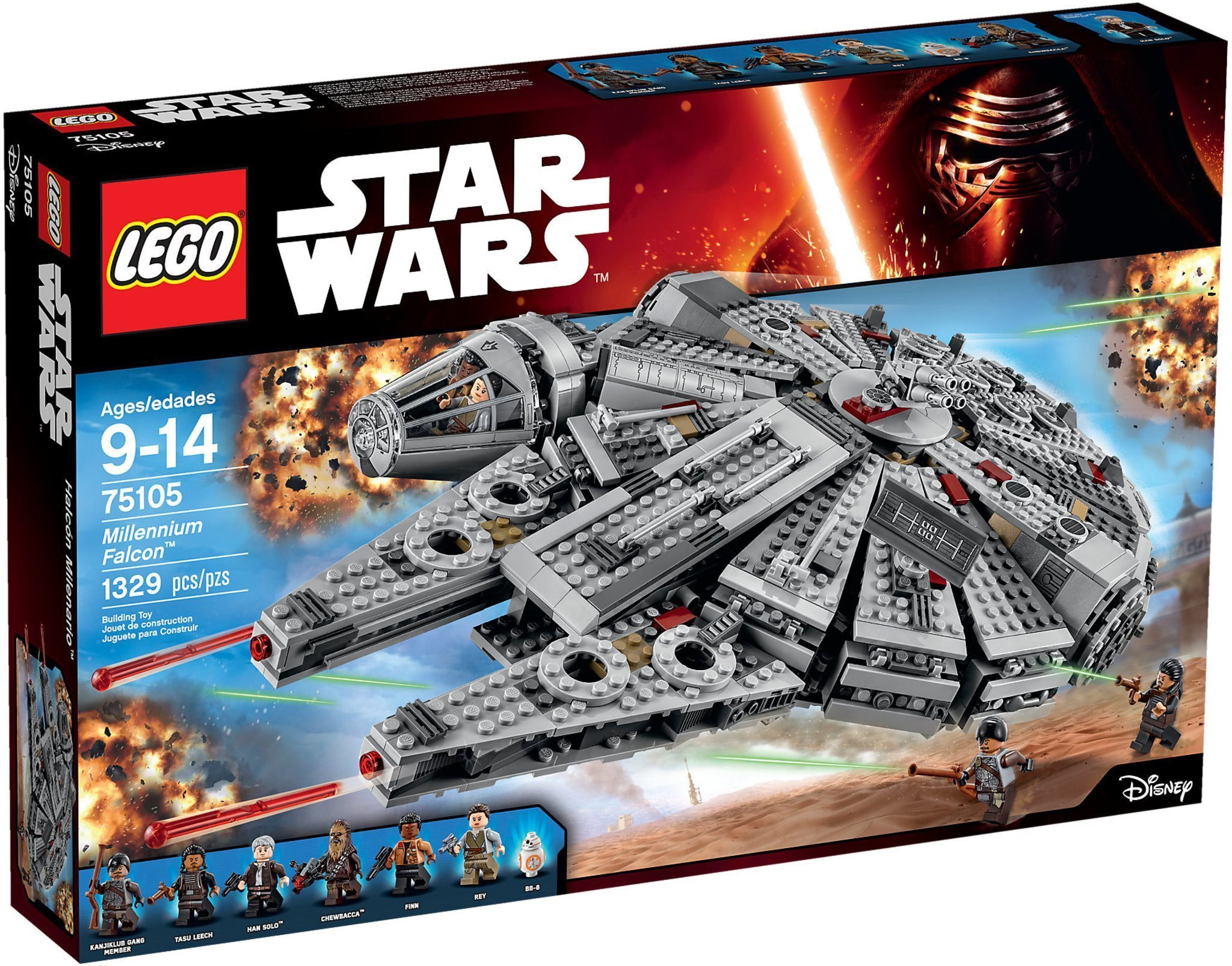 LEGO Star Wars 75105 Millennium Falcon - Ny