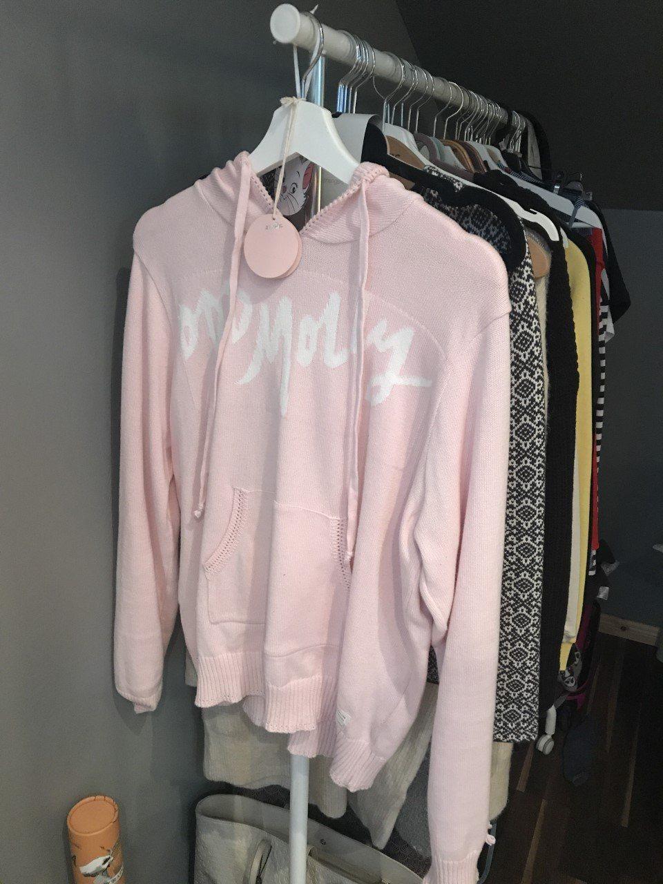 e66bd9641fcc Odd Molly Hey Baby Hood Sweater i Rosa Strl 2 (338991072) ᐈ Köp på ...