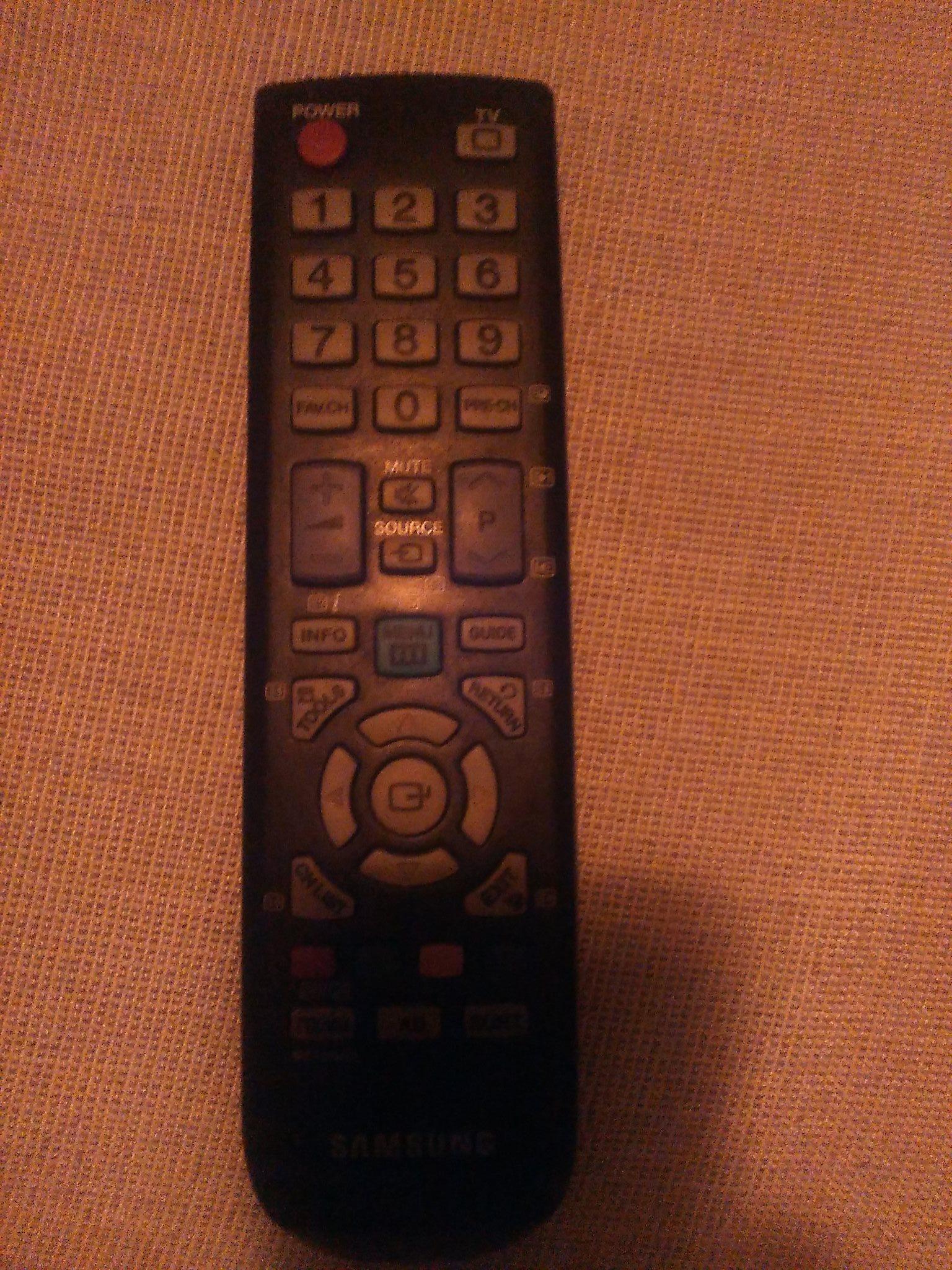 best service b054d 160d3 Samsung original fjärrkontroll till TV