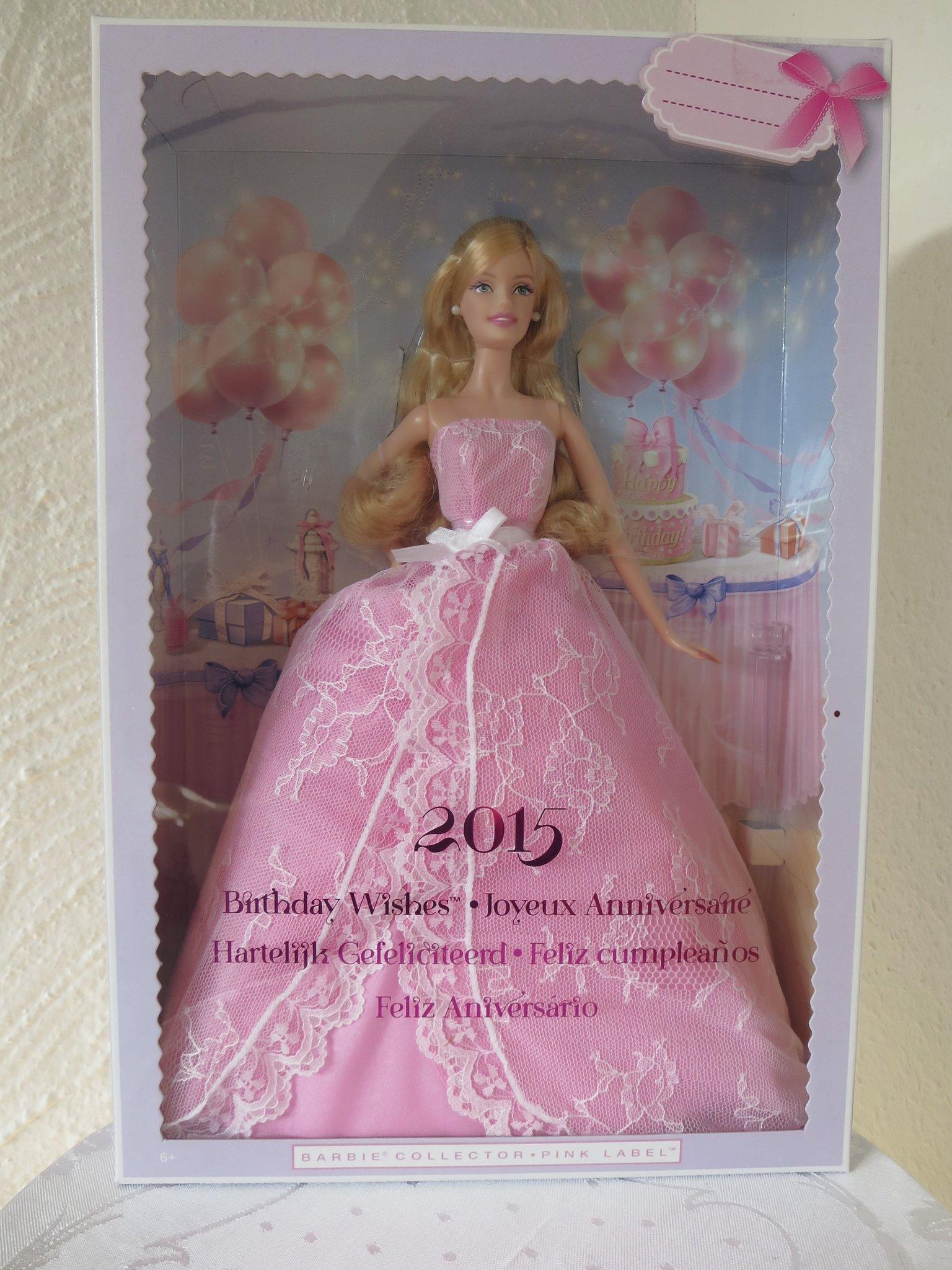 Barbie Collector Pink Label 2015 Obruten