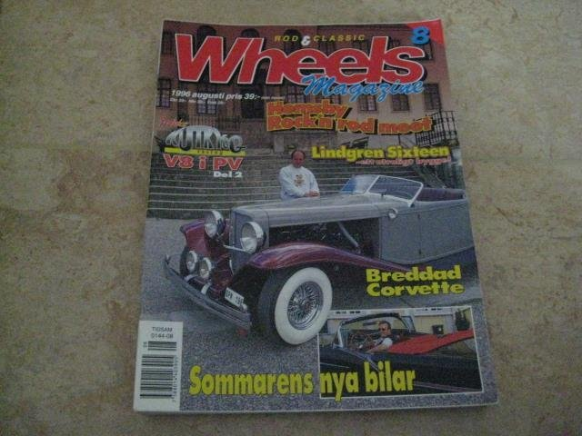 WHEELS NR 8 1996    OLDS CAB -57 , FORD -35 ,M.M