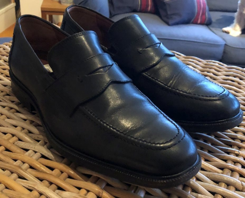 Penny loafers från Johnston   Murphy 9M  43 wat.. (331415914) ᐈ Köp ... 2e605593e9015