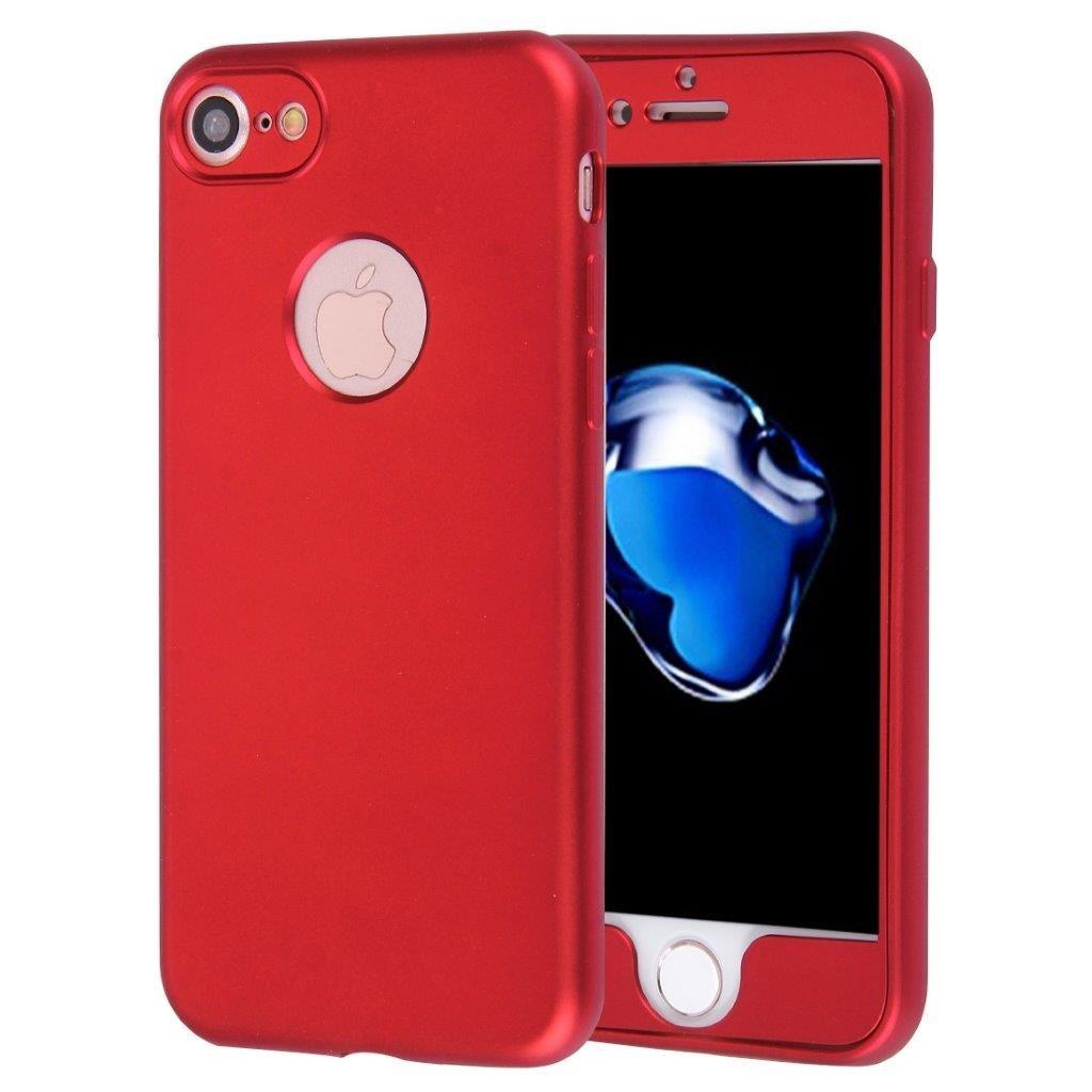 Rött komplett skal fram+baksida iPhone 7 (315751649) ᐈ 24HShop på ... 997337538c244