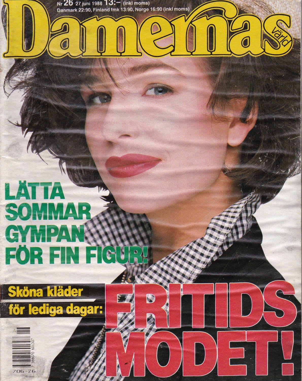 Damernas Värld Värld Värld 1988-26 B Springsteen..Ulrica Hydman-Vallien 85a8b6