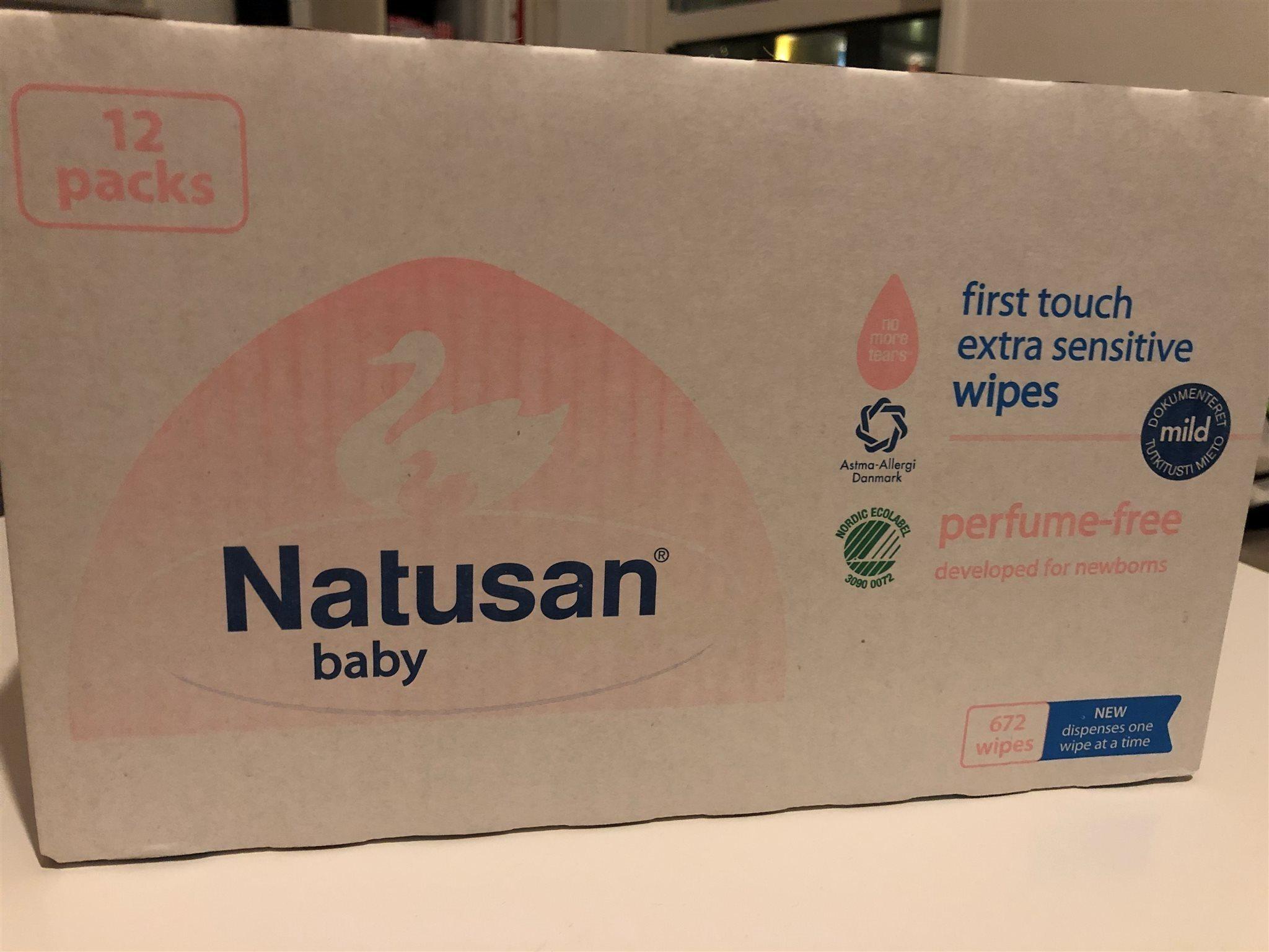 Natusan våtservetter box