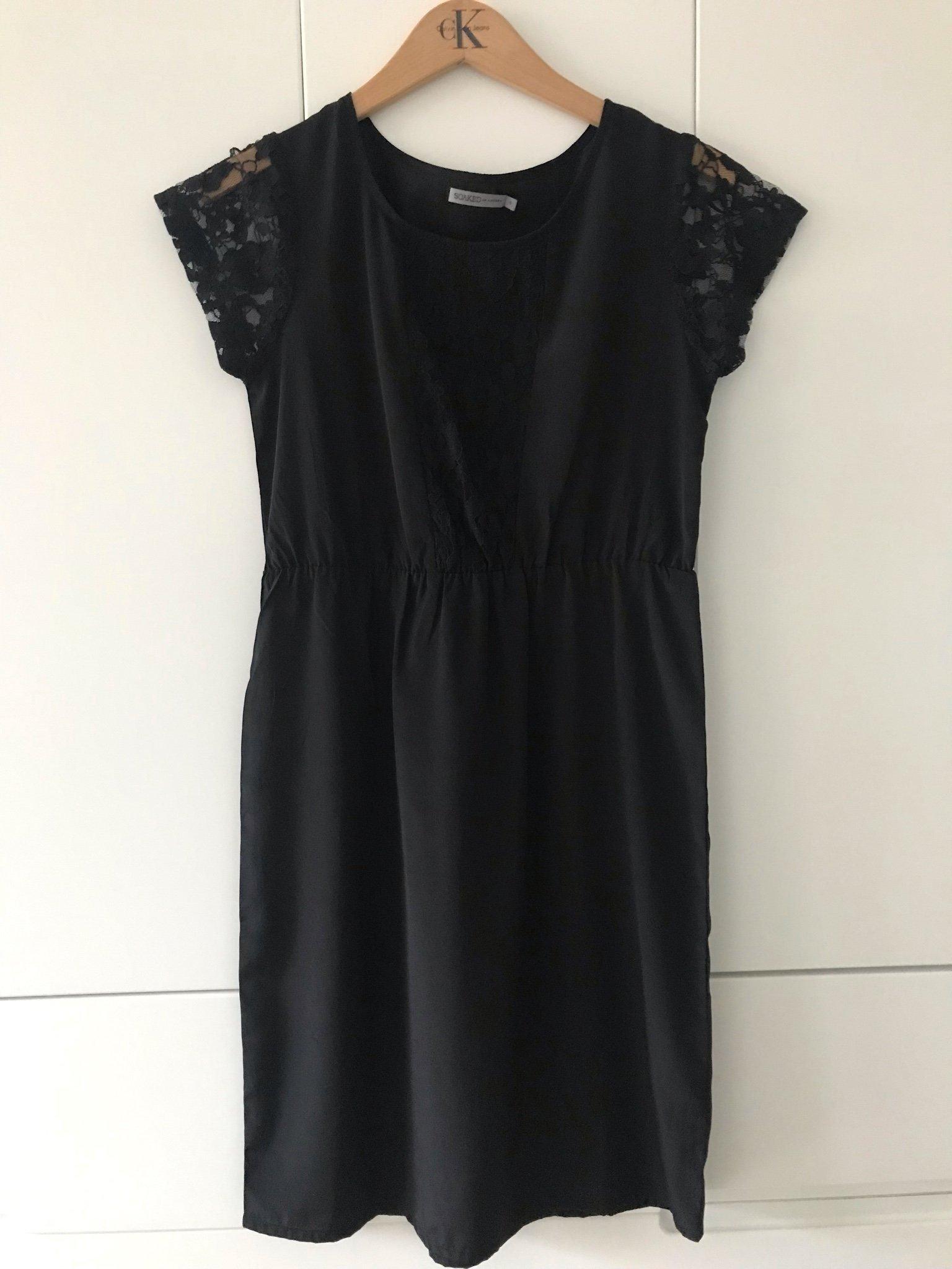 ce8d6808e088 Svart Spetsklänning spets klänning SOAKED In Luxury Stl S / 36 Fest chic  mode