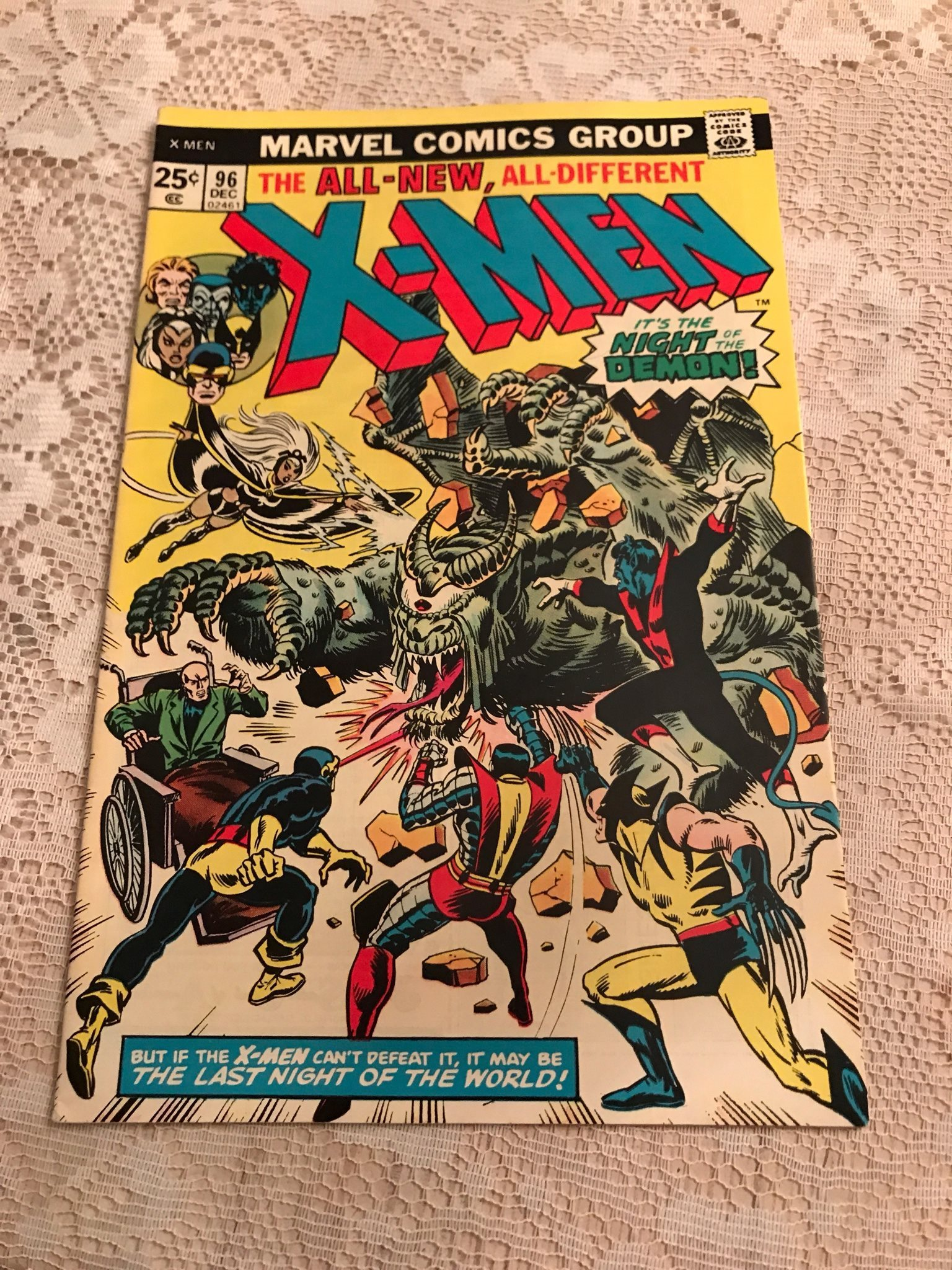X-men Vol. 1, nr 96, 1975, toppex! VF+