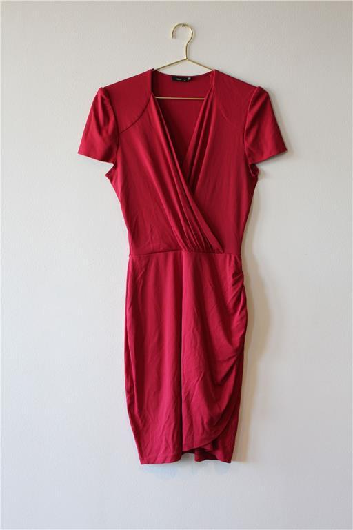 röd klänning Filippa K
