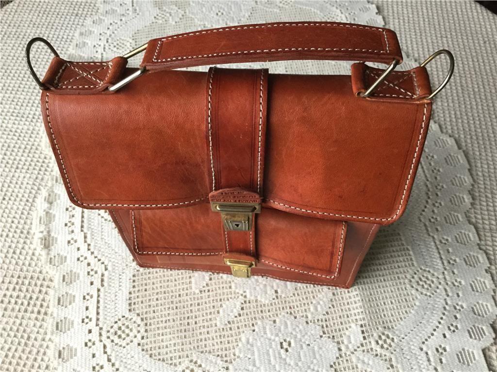 Handväskor i läder standard : Brun skinn handv?ska p? tradera handv?skor i l?der