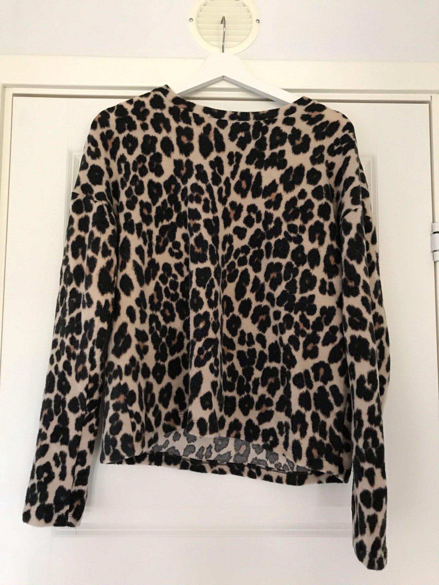leopard tröja gina