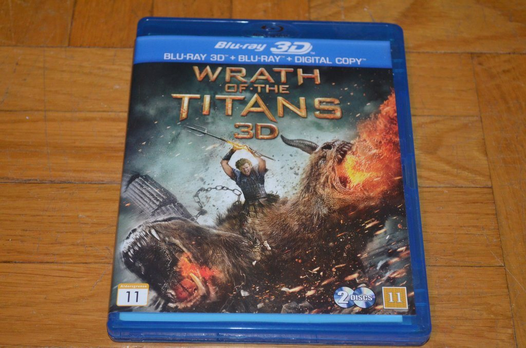 Wrath Of The Titans - Bluray 3D + Blu-Ray + DVD