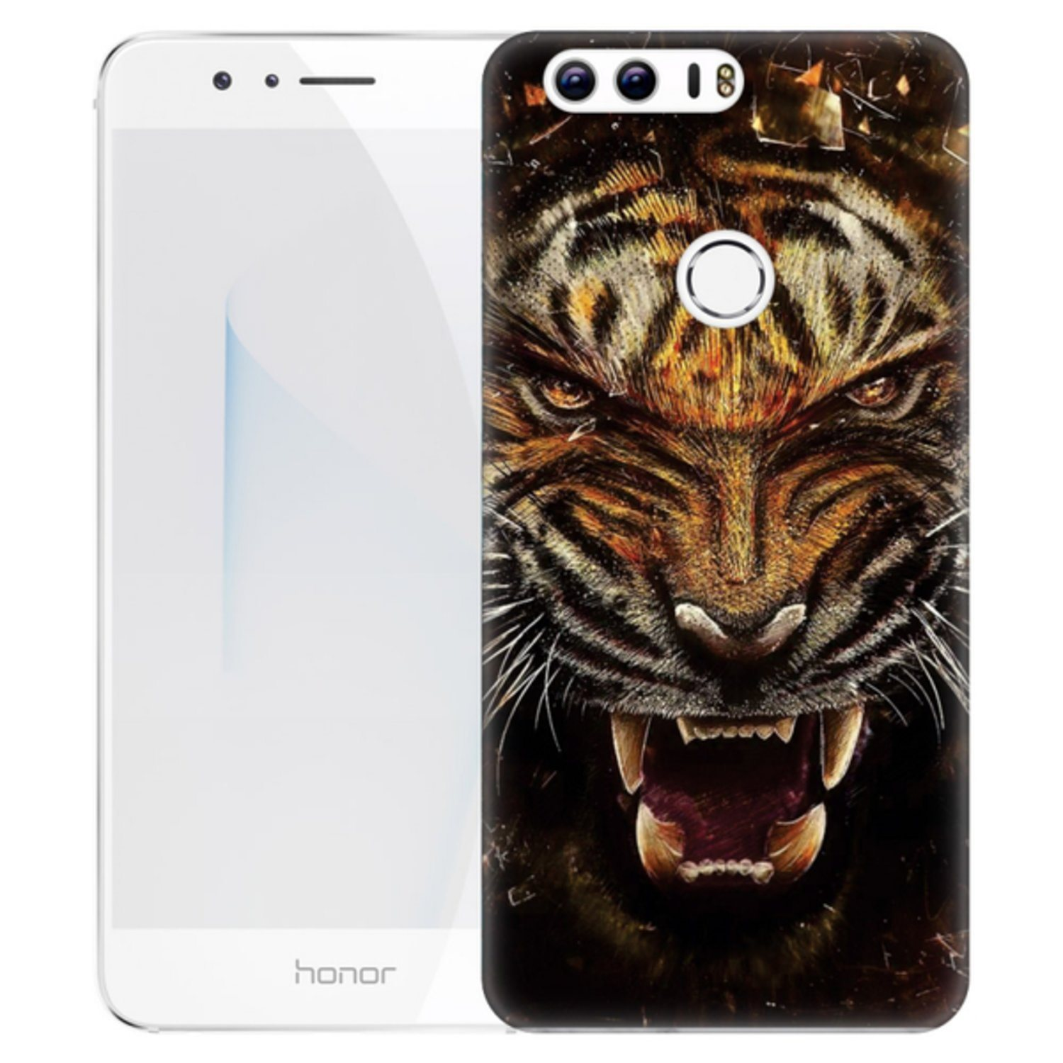 Huawei Honor 8 Skal Rytande Tiger