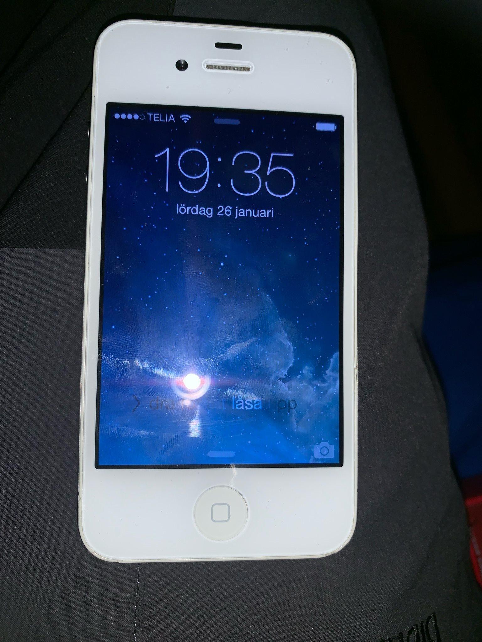 Apple iPhone 4 (Telia) Renoveringsobjekt (337703714) ᐈ Köp på Tradera 41e40cbc8f824
