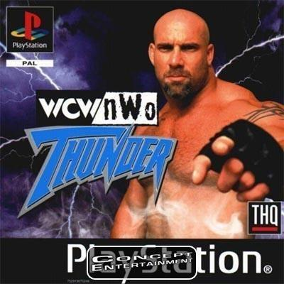WCW NWO THUNDER (komplett) till Sony Playstation, PS1