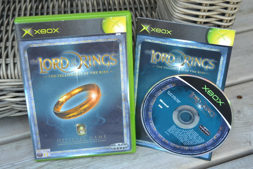 Lord of the Rings Fellowship of the Ring XBOX Komplett Fint