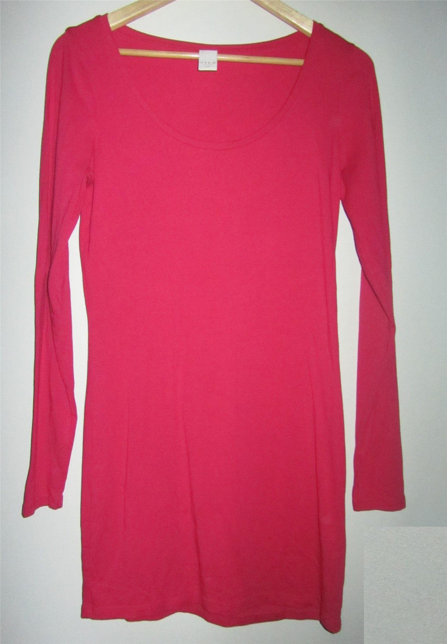 e3469c1baa88 VILA mjuk trikå klänning /lång tröja Toppskick .. (339476830) ᐈ Köp ...